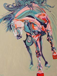 "Saatchi Online Artist: Yaheya Pasha; Acrylic 2013 Painting ""Torsión"""