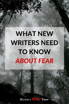 Do you want to become a writer but you're afraid of actually writing? Now you can discover how to overcome your fear of writing today. Creative Writing Tips, Book Writing Tips, Writing Words, Fiction Writing, Writing Process, Writing Quotes, Writing Resources, Writing Help, Writing Skills