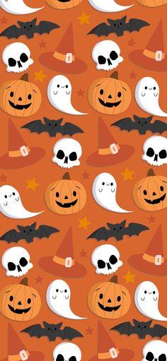 Halloween Background - Sunny Designs