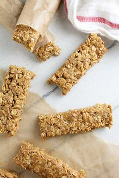 No Bake Chewy Butterscotch Granola Bars   Baked in AZ