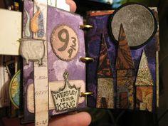harry potter mini book.