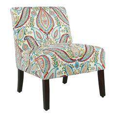 Alleyton Paisley Slipper Chair