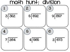 math worksheet : 1000 images about division on pinterest  division long division  : Single Digit Division Worksheet