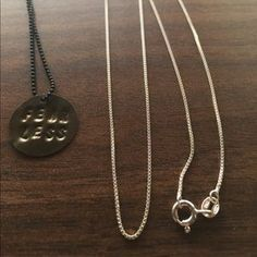 I just added this to my closet on Poshmark: Sterling silver box chain necklace 18 inches. Price: $23 Size: OS