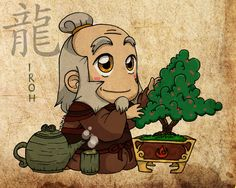 Tiny Iroh! Your so cute!