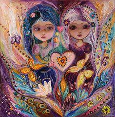 Original fantasy fairy art print of Zodiac Fairy series Gemini Gold butterfly big eyes girl Wall art Wall Canvas, Canvas Prints, Art Prints, Wall Art, Wall Decor, Fantasy Kunst, Fantasy Art, Gemini Birthday, Original Paintings