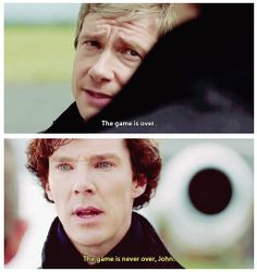 #SPOILERS #Sherlock #Series3 - The game is never over