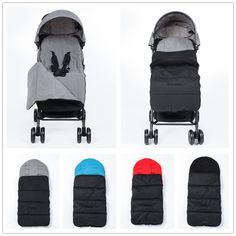 2017 Hiver Bébé Sac de Couchage poussette chaud Nouveau-Né Enveloppe Enfants  Épais pied couverture pour landau fauteuil roulant Infantile poussette ... 2e8c14efde2