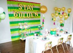 Stay Golden St. Patrick's Day Party | CatchMyParty.com