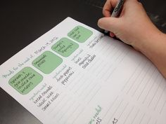 meal planning/groceries printable