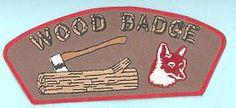 Awards & Gifts :: Wood Badge :: Fox Badge :: Woodbadge CSP Fox