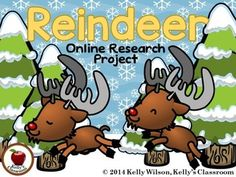 Reindeer Research Project (non-fiction, note taking, reading for information, animals, adaptations, winter, caribou)  This reindeer themed research activity integrates well with any non-fiction, winter, or animal adaptations activity.  This is an introductory research activity in which students practice reading for information, taking notes and summarizing.