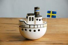 Gustavsberg / Lisa Larson Boat