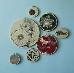 Just got myself some embroidery hoops, this could be (inspiration for) my first embroidery project..