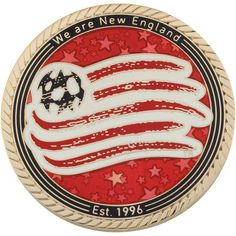 New England Revolution MLS Gold Coin
