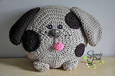 Spring Pals Pillow Pack Crochet pattern by Sincerely Pam Crochet Home, Crochet For Kids, Crochet Baby, Knit Crochet, Crochet Pillow Pattern, Crochet Cushions, Crochet Patterns, Kids Pillows, Animal Pillows