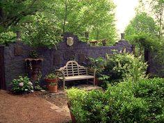 Insomniac's Attic: Gothic Garden Decor on a Beer Budget