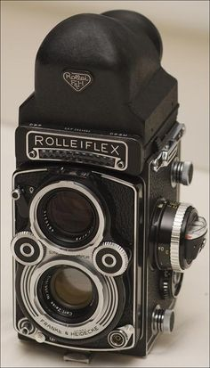 Rolleiflex with Prism