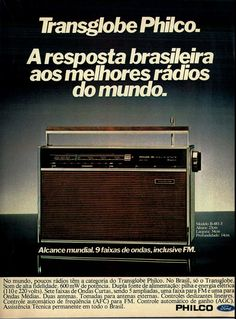 ? radio portatil antigo philco - Google Search