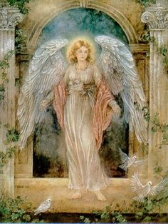 Pics For > Famous Guardian Angel Paintings