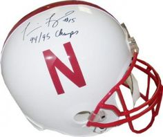 Tommie Frazier Signed Full-Size Replica Helmet #SportsMemorabilia #NebraskaCornhuskers