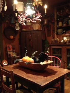 ♥ The Primitive Pantry ♥: Fall/Autumn Decorating