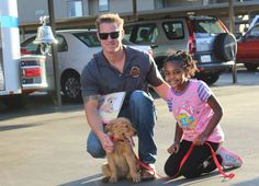 We often write about the heroics of firefighters here at Life With Dogs. They are often saving our four-legged friends from emergencies. Firefighters in Corona, California were heroes in a different way last week when they donated a golden retriever puppy to be trained as an alert dog for an 8-year-old girl who suffers from seizures.