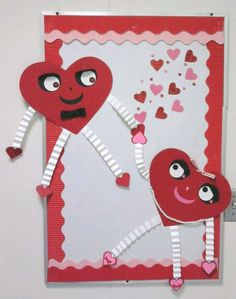 Check out these Easy Valentines Day Classroom Crafts for Kids to Make - Bulletin Boards! You can buy all the supplies you need at your local dollar store for these awesome Valentines art projects for toddlers February Bulletin Boards, Valentines Day Bulletin Board, Valentine Day Crafts, Kids Valentines, School Door Decorations, Classroom Crafts, Classroom Ideas, Crafts For Kids To Make, Board Decoration