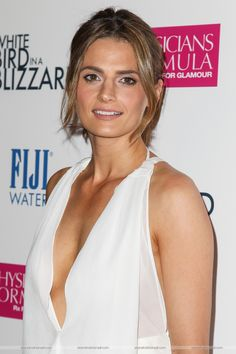 "#stanakatic at the ""White Bird In A Blizzard"" premiere - october 21, 2014"