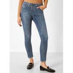 Mia Moda Jeansjacke Jacke Jeans Frühjahr Denim blau jugendlich  GR  44 46 NEU