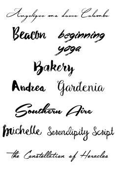 #freebie #kostenlos #fonts #handwritten #personal #use #commercial #use…