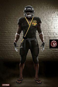 Cobra Kai Karate Kid football uniform