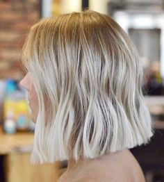 Long bob hairstyles 503981014551839868 - 50 Spectacular Blunt Bob Hairstyles Source by nicolehelder Blonde Balayage Bob, Brown Blonde Hair, Blonde Bobs, Blunt Blonde Bob, Blunt Lob, One Length Haircuts, Short Haircuts Shoulder Length, One Length Bobs, Blunt Bob Hairstyles