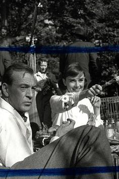 Gary Cooper and Audrey Hepburn 1949 - Google Search