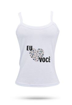 Camisetas Diversos Modelos - Eu e você MO8859