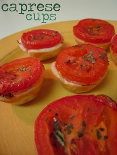 On the Table: Caprese Cups | The Spotted Fox