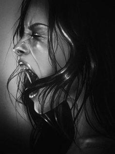 Pencil Portraits - Pencil Portraits by Rebecca Blair - Discover The Secrets Of Drawing Realistic Pencil Portraits.Let Me Show You How You Too Can Draw Realistic Pencil Portraits With My Truly Step-by-Step Guide. Pencil Art, Pencil Drawings, Art Drawings, Horse Drawings, Illusion Kunst, Pencil Portrait, Dark Art, Art Sketches, Amazing Art