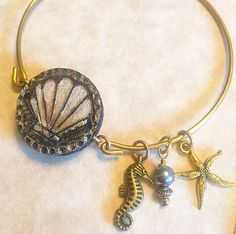 The Sea Life Bangle by BurnedinBrooklyn by BurnedinBrooklyn