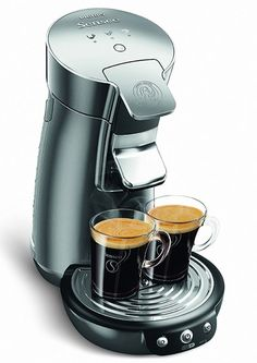 Kaffeepadmaschinen  Küchengeräte : Philips HD7825/10 Senseo Viva Café United Colours ...