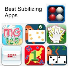 Subitizing - A Quick Way to Develop Number Sense - Best Math Apps and Websites for Kindergarten through 2nd Grade