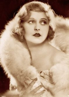 Lee Parry (1901–1977) a silent era German film actress . She appeared in 48 films between 1919 and 1939. She was best known for comedies &  was also a successful radio singer and recording artist of popular hits.  (please follow minkshmink on pinterest) #flapper #weimar #twenties #leeparry #furcoat
