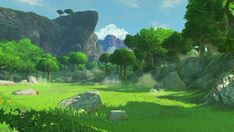 The Legend of Zelda: Environment Change The Legend Of Zelda, Legend Of Zelda Breath, Anime Backgrounds Wallpapers, Anime Scenery Wallpaper, Episode Backgrounds, Environment Concept Art, Environment Design, Breath Of The Wild, Fantasy Landscape
