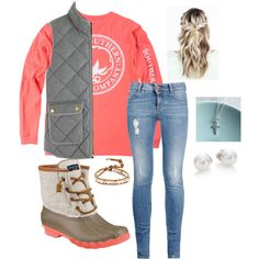 A fashion look from January 2016 featuring J.Crew vests, STELLA McCARTNEY jeans and Sperry boots. Browse and shop related looks. Fashion Models, Look Fashion, Fashion Outfits, Womens Fashion, Fashion Trends, Fashion Fall, Cheap Fashion, Affordable Fashion, High Fashion