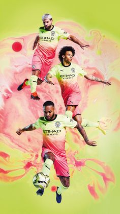 Puma Launches Manchester City's New Season Third Kit: Bold & Beautiful. , Puma Launches Manchester City's New Season Third Kit: Bold & Beautiful. Puma Launches Manchester City's New Season Third Kit: Bold &. Manchester City Logo, Manchester City Wallpaper, Lionel Messi Wallpapers, Kun Aguero, Messi Soccer, Sports Graphic Design, Zen, Football Wallpaper, Football Pictures