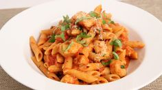 Penne Vodka with Chicken Recipe - Laura Vitale - Laura in the Kitchen Episode 862 - YouTube