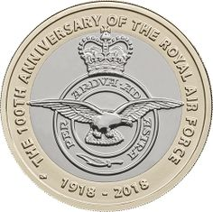 RAF Centenary Badge Designed by Rhys Morgan, the RAF Centenary Badge coin celebrates the Royal Air Force as a whole, featuring the badge of the RAF. The Royal Air Force was formed on April 1st 1918, in the early years of aviation. It was the world's first independent air force, and is recognised today all over the world for its capability, courage and innovation. This coin is available to own today in CERTIFIED Brilliant Uncirculated condition.