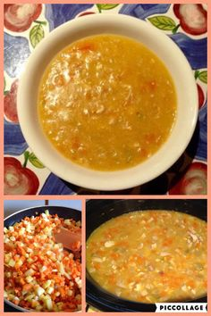 Creamy Chicken and Veggie Soup |