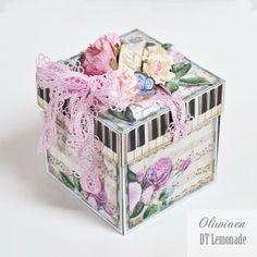 Victorian Wedding Cake *DT Lemonade* - Scrapbook.com