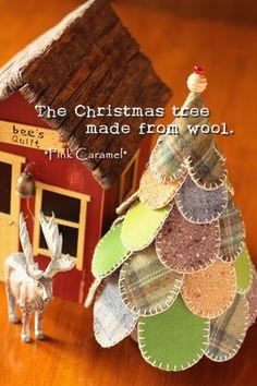 Christmas tree wool