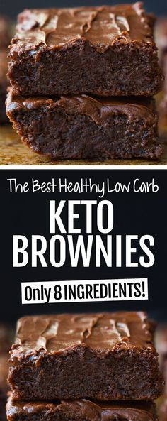 Healthy Low Carb Recipes, Ketogenic Recipes, Low Carb Keto, Keto Recipes, Healthy Brownie Recipes, Easy Healthy Desserts, Ketogenic Diet, Keto Desert Recipes, Low Carb Food List